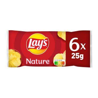 Chips Lays MULTIPACK Nature (25g x 6)*16